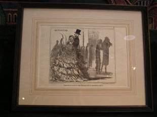 Daumier Lithograph #5 317-16