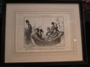 Daumier Lithograph #11 317-19