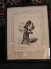 Daumier Lithograph #8 317-20
