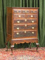 Carved Chest on Stand 455-66