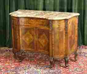 84: Italian Marble Top Commode 204-190