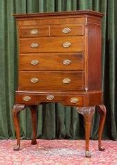 Mahogany Chest on Stand 485-161