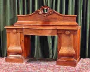 Double Pedestal Sideboard 455-18