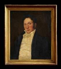 1021: Framed Portrait of a Genleman 204-357