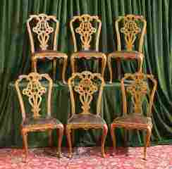 Set of 6 Italian Chairs 470-2