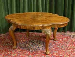 Italian Burl Dining Table 470-1