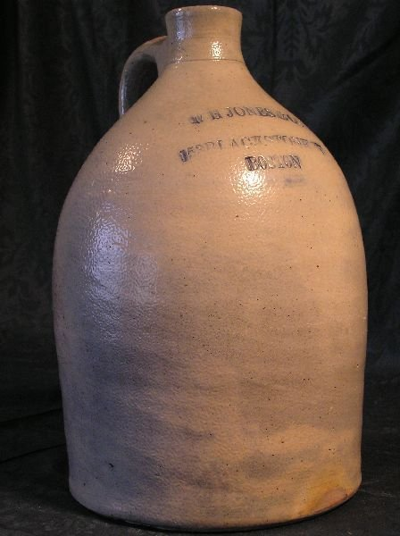 1: WH Jones & Co Stoneware Jug