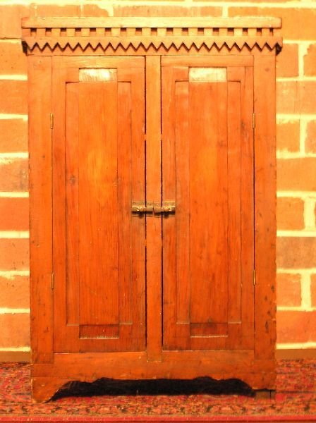 2: Paneled Door Cupboard