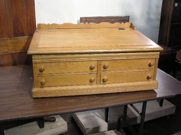 6: Oak School Master's Desk