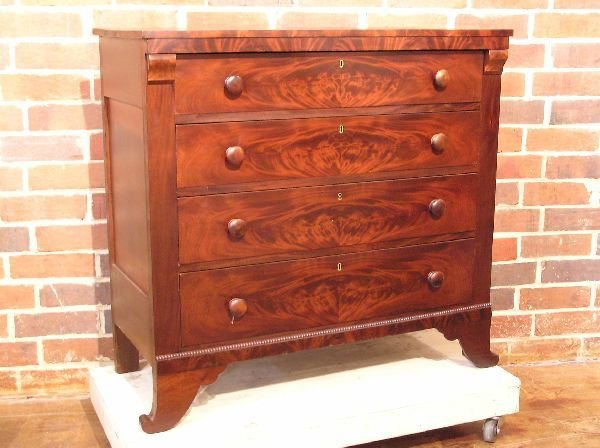 16: Empire Mahogany Chest