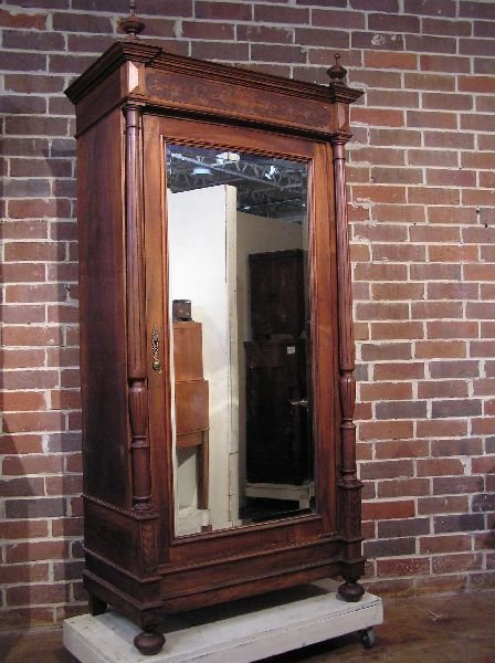 24: French Renaissance Walnut Armoire