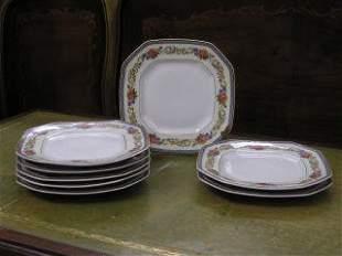 1000: Set of 8 Limoge Plates