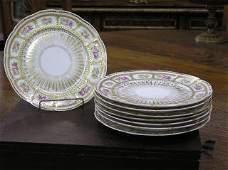 1052 Set of 8 Floral Limoge Plates 184