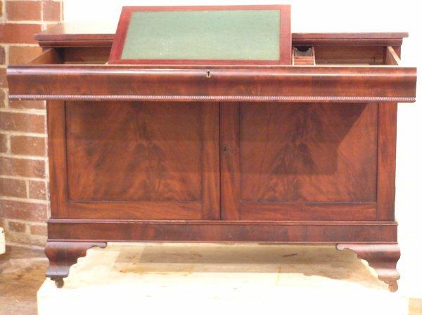 6: Empire Mahogany Writing Desk