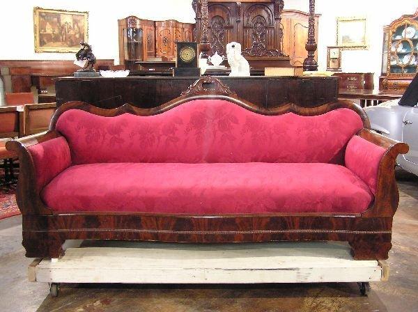 10: Empire Mahogany Sofa