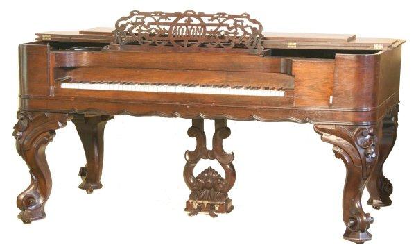12: Rosewood Rectangular Grand Piano