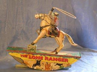2002: The Lone Ranger Rocking Toy