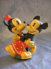 Wind-Up Mickey and Minnie Mouse Toy 87-74