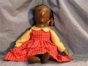 Folk Art Doll by Sue Johnson