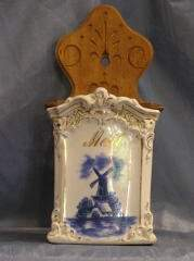 Blue and White Hanging Kithchen Cannister