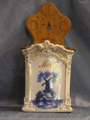 2015: Blue and White Hanging Kithchen Cannister