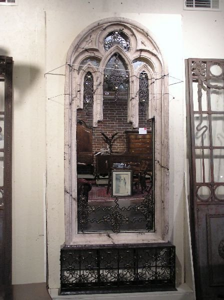 10: Architectural Composition Mirror with Iron Detail