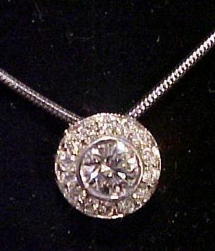 21: Diamond Pendant Designed by Jonathan Shapero