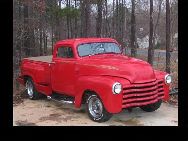 210: 1951 Chevrolet Chop Top Pickup Truck