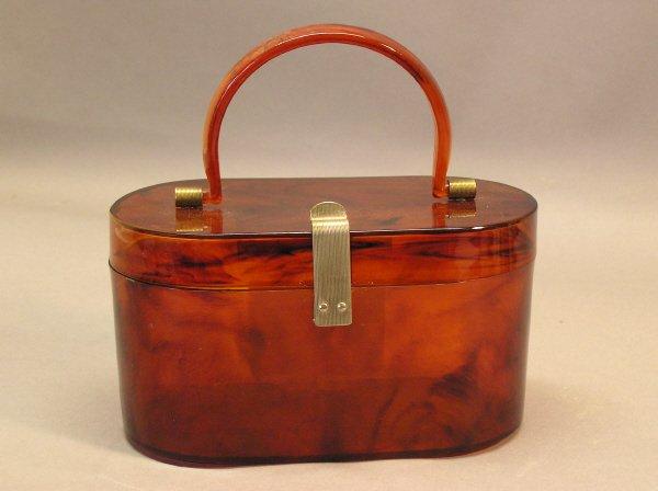 21: Vintage Plastic Handbag