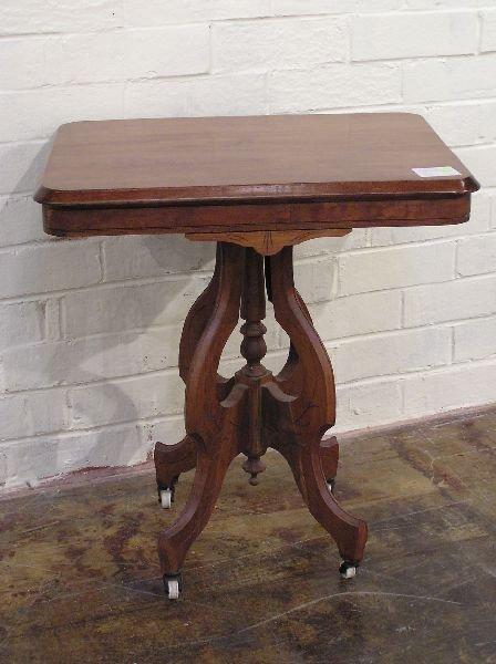 22: Walnut Victorian Table