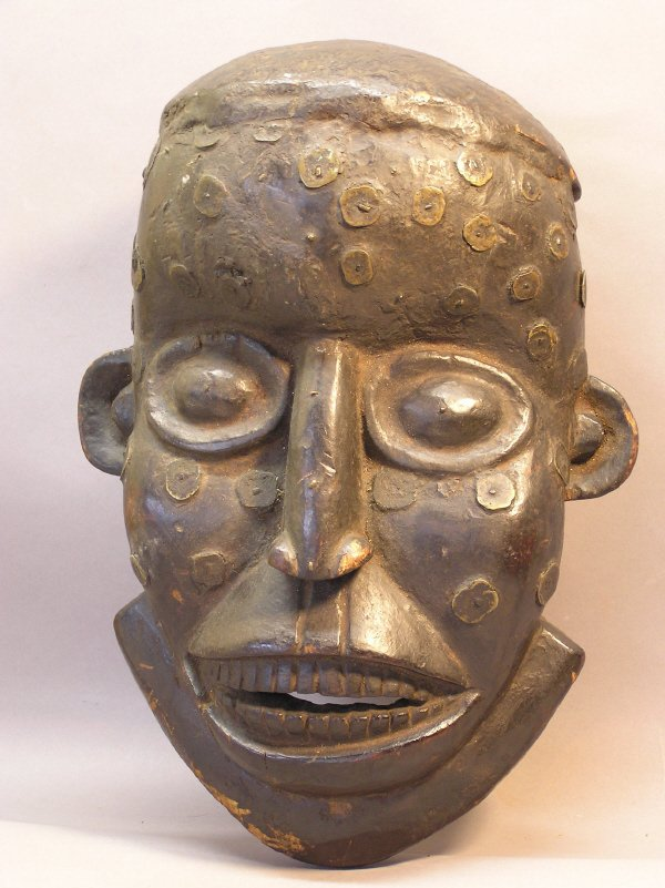 1003: Wooden African Mask