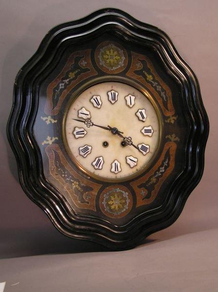 1019: Ox Eye Wall Clock