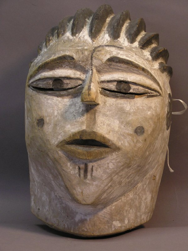 1023: Hand Carved African Mask