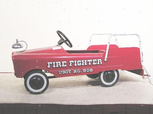4: Pedal Car Fire Engine