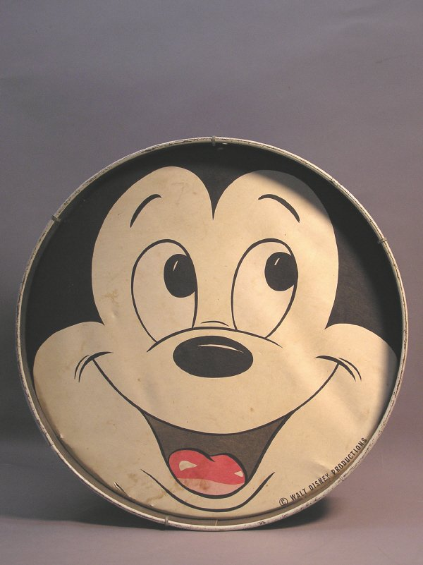 8: Mickey Mouse Drum by Walt Disney Productions