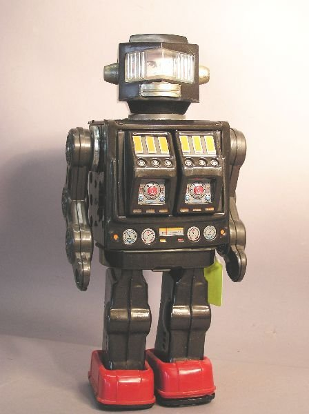 21: Battery Operated Robot