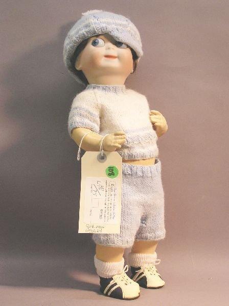 108: German Googly Doll