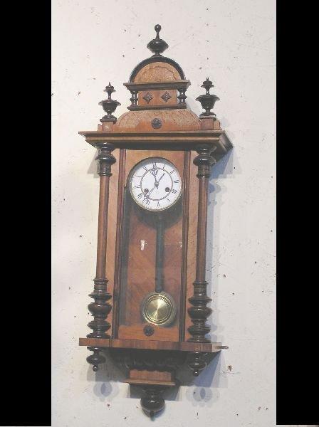 1001: Junghens Walnut Wall Clock