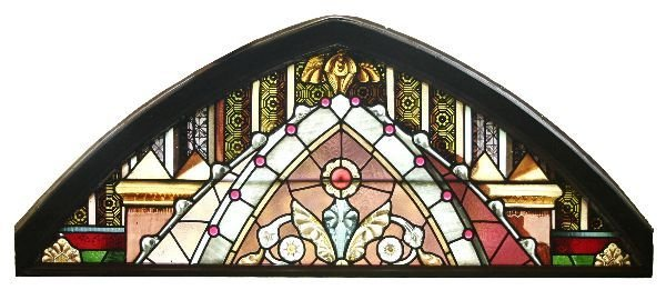 1013: Victorian Stained Glass Window