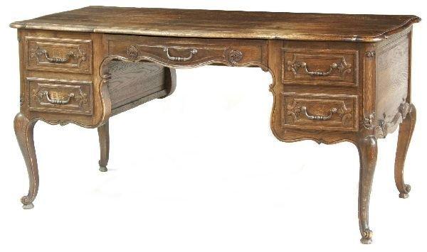 1024: Country French Oak Desk