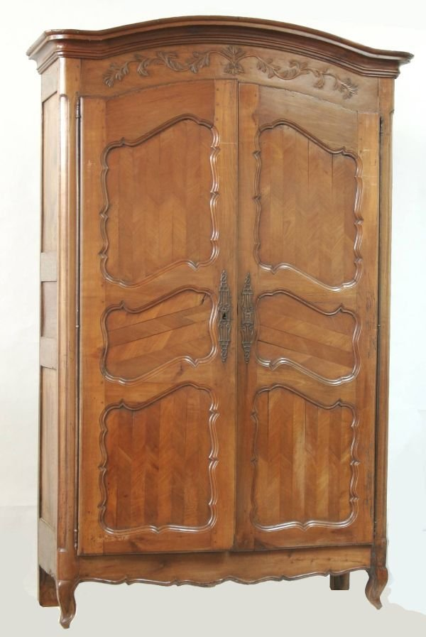 1058: Country French Armoire
