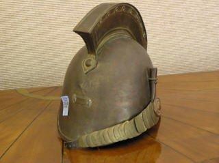 12: Brass French Military Dress Helmet  B89