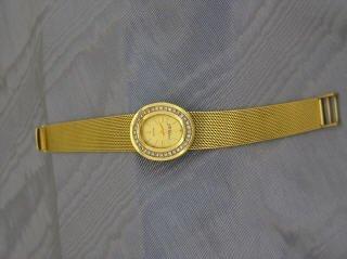 23: Ladies Chopard Wrist Watch 18k Gold  J16