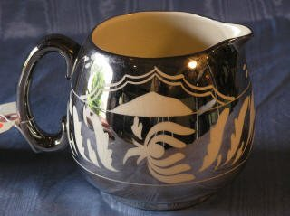 2002: Silver Lustre Pitcher   87-130