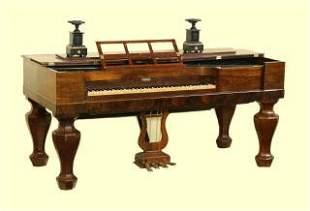R Nunns & Clark Square Grand Piano Melodeon 87