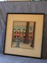 Japanese Woodblock by Tokuriki Tomikichiro (1902