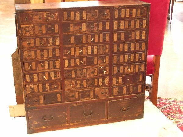 1002: Oriental Apothecary Cabinet