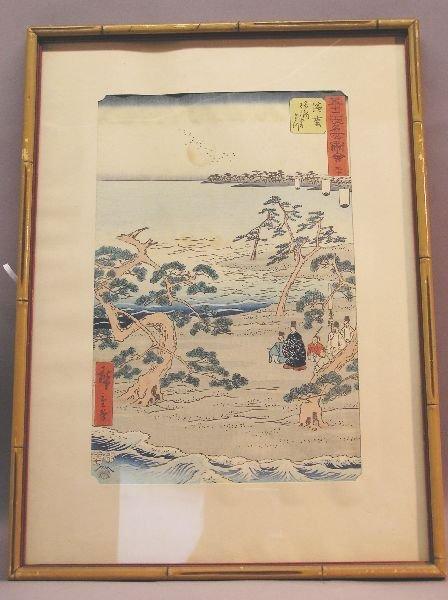 1005: Pair of Woodblocks by Ando Hiroshige