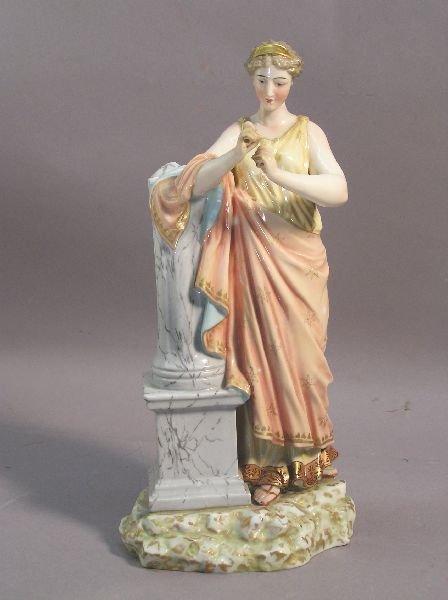 1013: Porcelain Figure of a Classic Lady