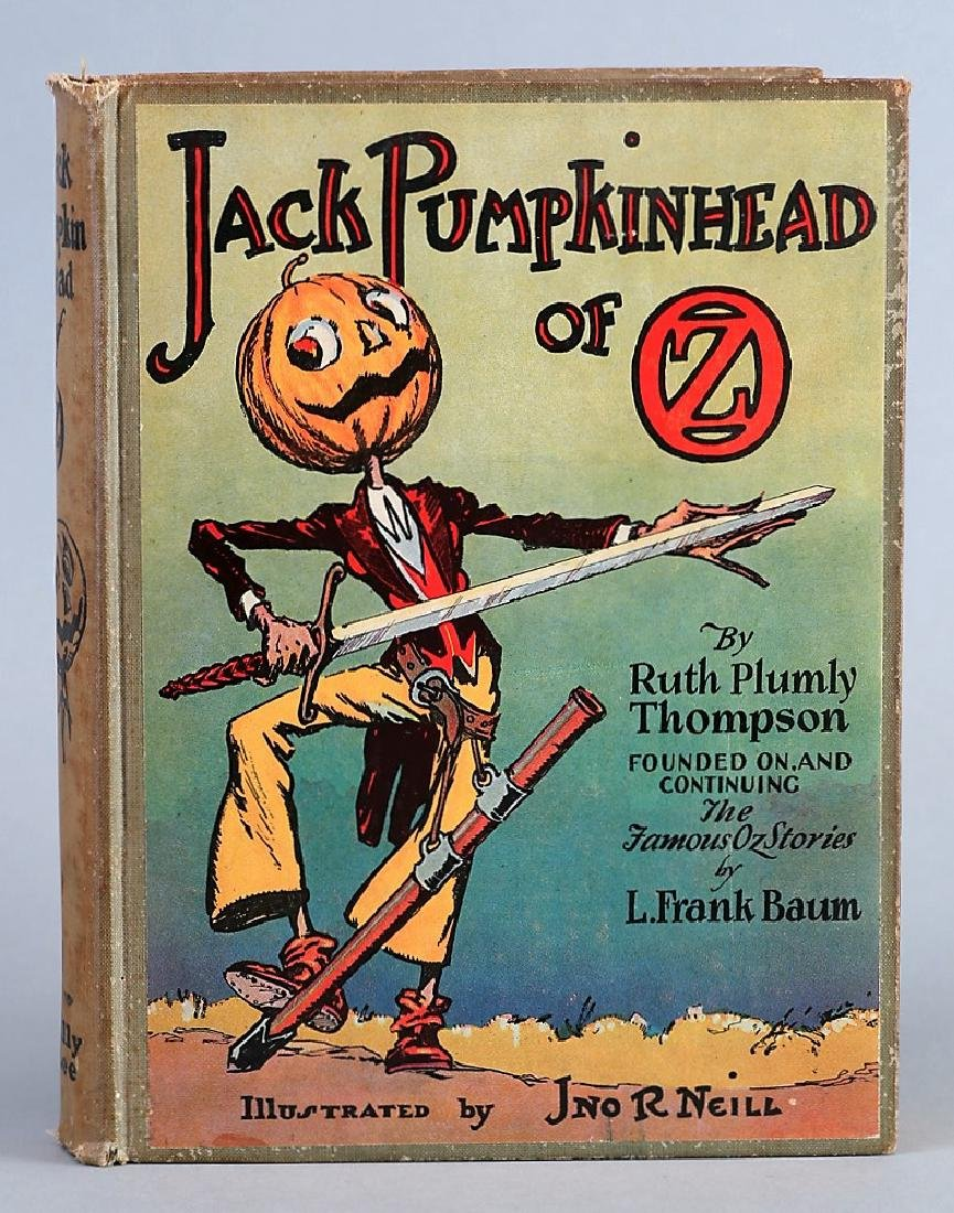 Jack Pumpkinhead of Oz, 1929 First Edition, Ruth Plumly